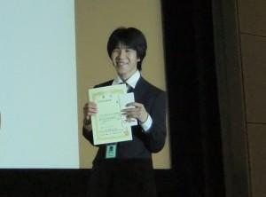 2010年度受賞者:高橋佑介