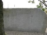 対欧無線通信発祥地記念碑の碑文